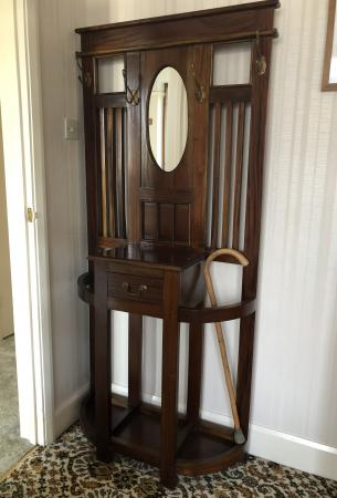 Image 2 of Vintage Coat and Umbrella Stand