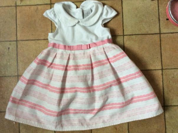 Image 3 of Jasper Conran Baby Dress 9 - 12 months