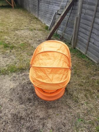 Image 2 of Childrens Swivel Egg Chair