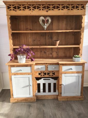 Rustic Welsh Dresser