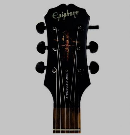 Image 2 of Epiphone les Paul Pirates of the Caribbean Collectors Piece.
