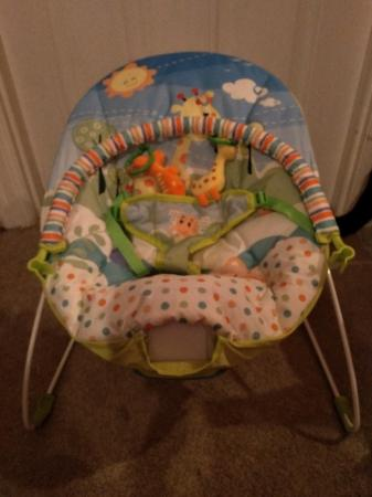 Image 1 of brand new musical baby bouncer