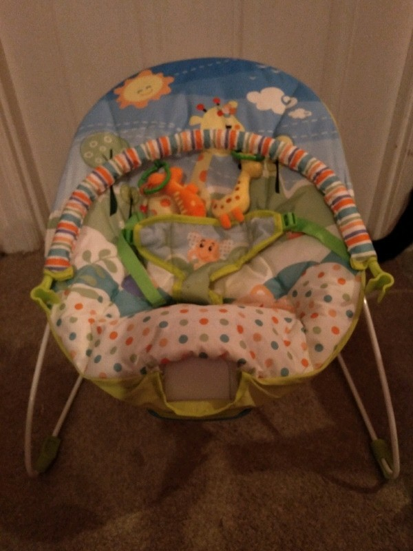 Preview of the first image of brand new musical baby bouncer.