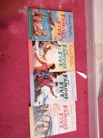 Image 1 of Enid Blyton famous five books, 10 pack