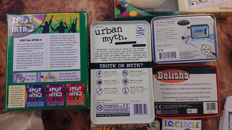 Image 2 of Collection of fun party games inc Urban Myths