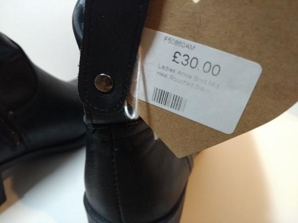 Image 5 of Ladies Ankle Boots, Size 6 Brand New