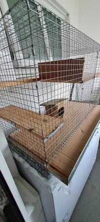 Image 1 of Indoor Cage For/Ferret /Rat Chinchilla