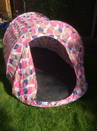 Image 3 of Pink & Purple North Gear Pop Up Two Man Tent