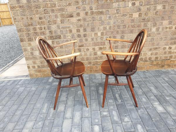Image 1 of Pair of Ercol chairs