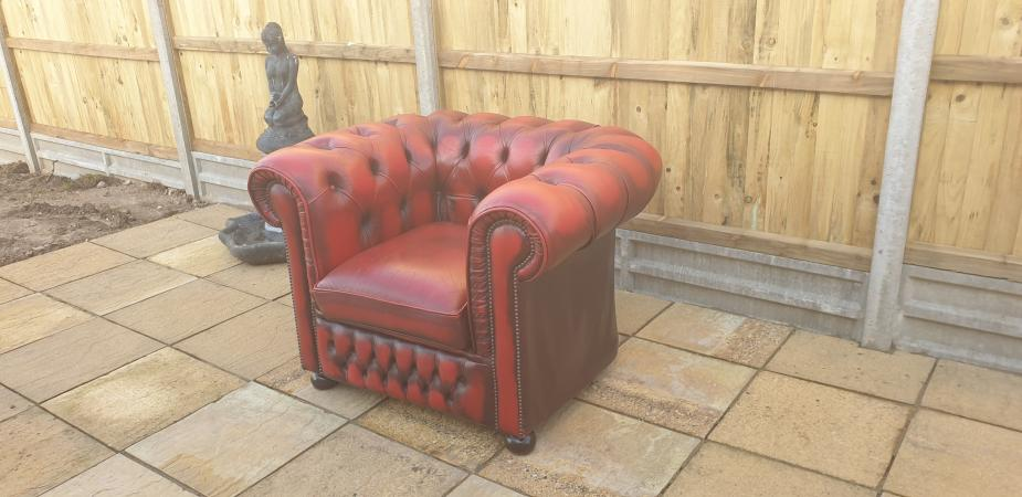 Image 5 of Chesterfield Chair