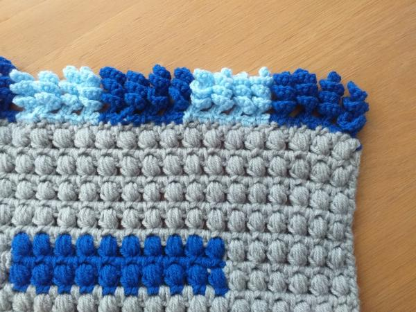 Image 3 of New Handmade Blanket Throw Sofa Home Decor Crocheted