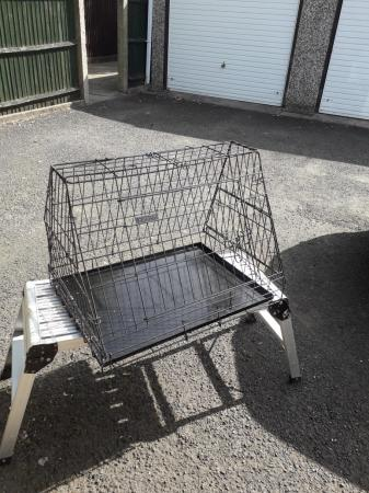 Image 2 of Car dog crate for sale