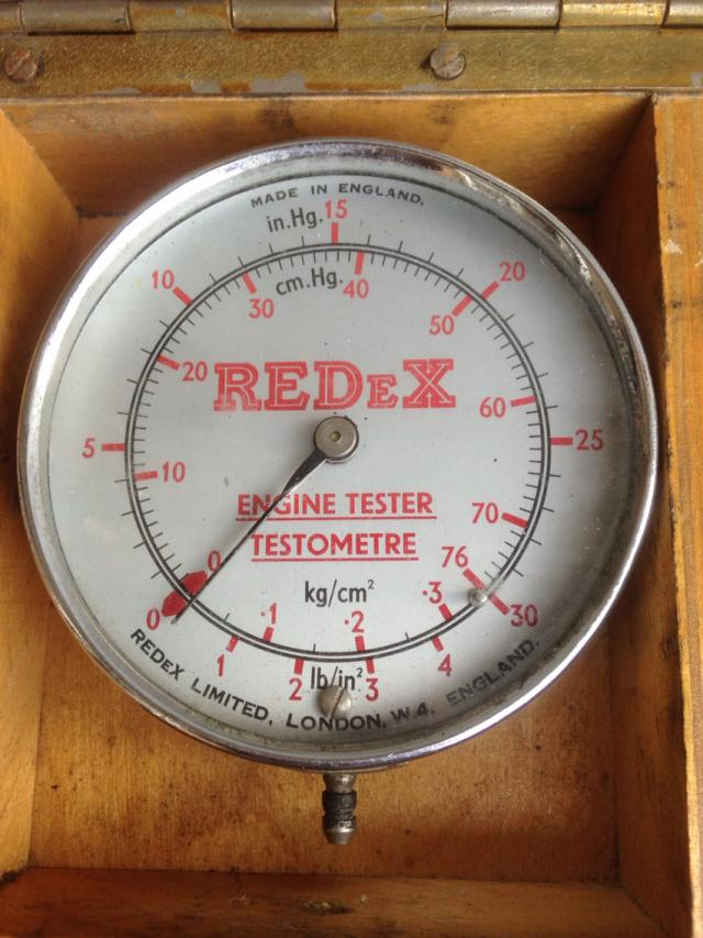 Vintage Redex Engine Tester With Instructions For Sale In Glossop