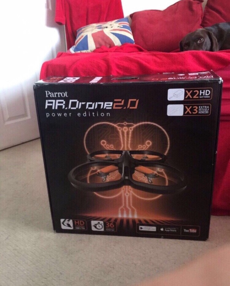 Parrot AR.Drone 2.0 Power Edition for sale  Burwell