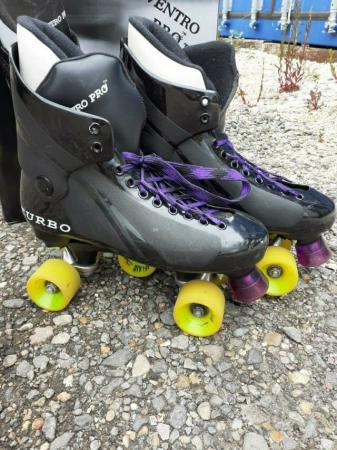 Image 2 of Ventro Pro Turbo Quad Skates Sizes 7
