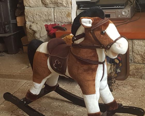 Image 1 of SOFT TOUCH ROCKING HORSE