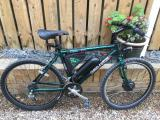 Claud Butler CBX Magna E bike with Yose Power kit - £600