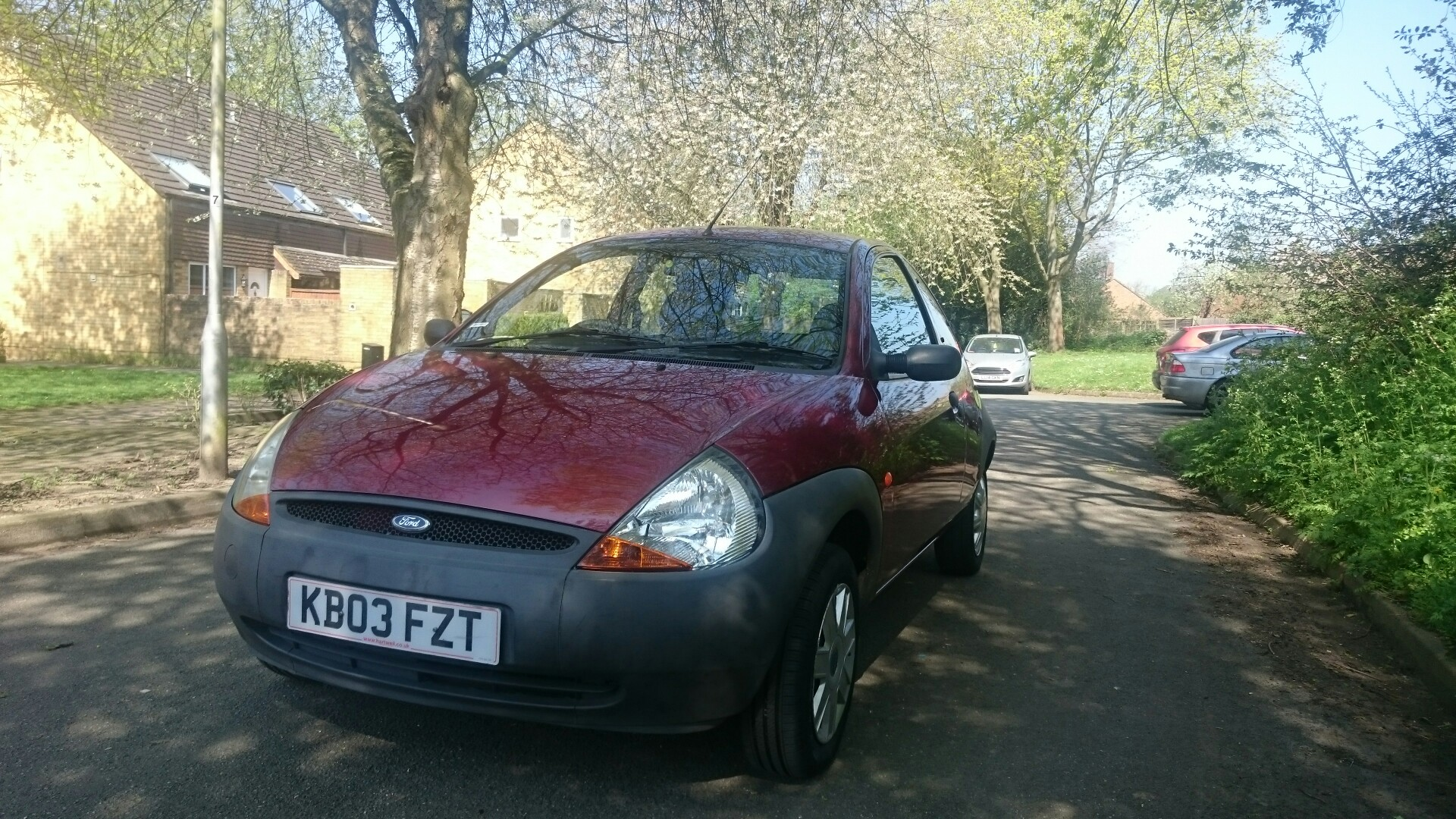 Brilliant Little Ford Ka   Only Done  Miles Drives Like New And Is In Good Condition Cheap Car Perfect For Run Around Or Young Driver