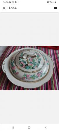 Image 1 of Indian Tree Lidded Serving Dish