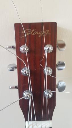 Image 2 of STAGG ACOUSTIC GUITAR
