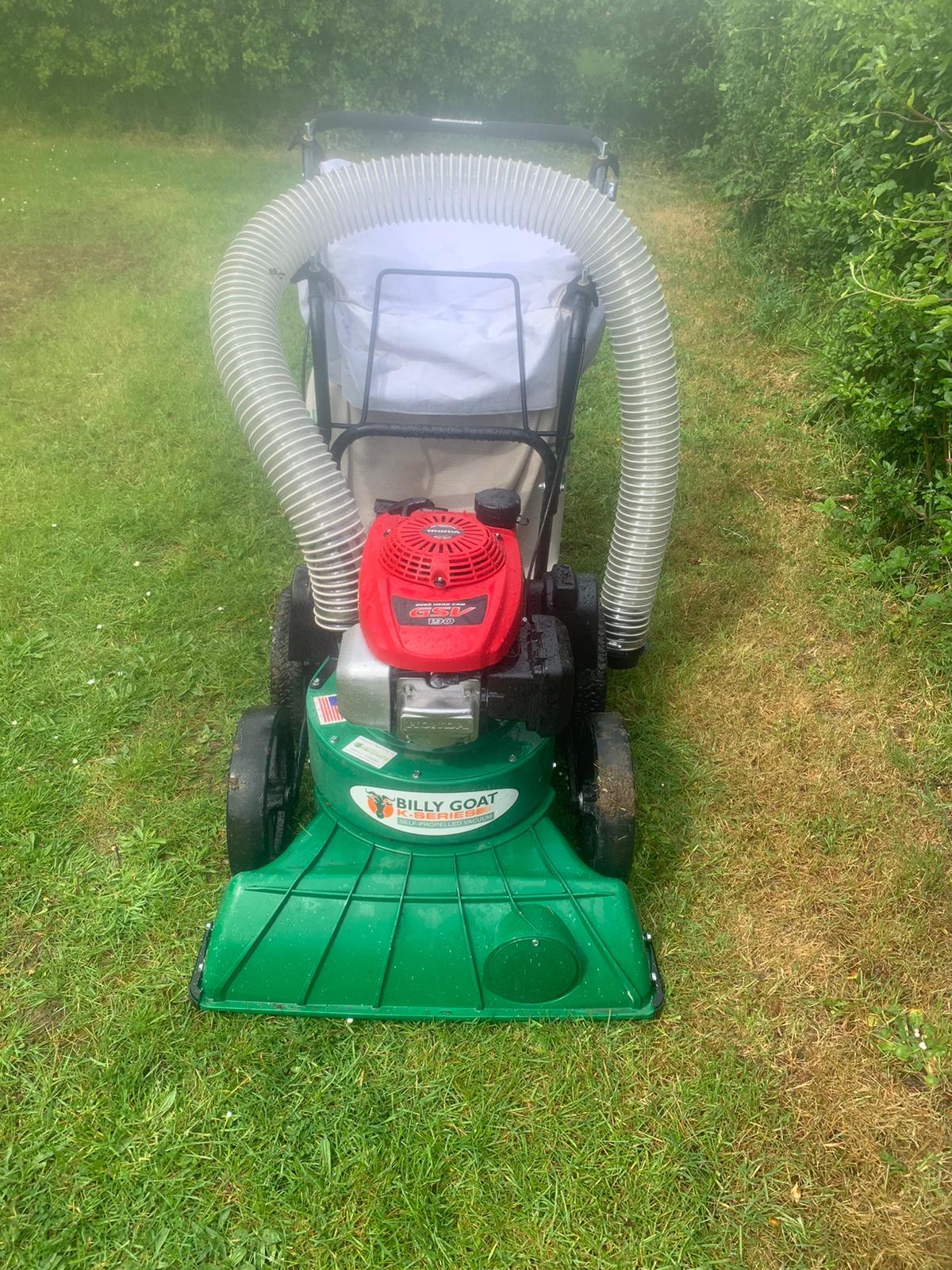 Billy Goat leaf vacuum in Welwyn Garden