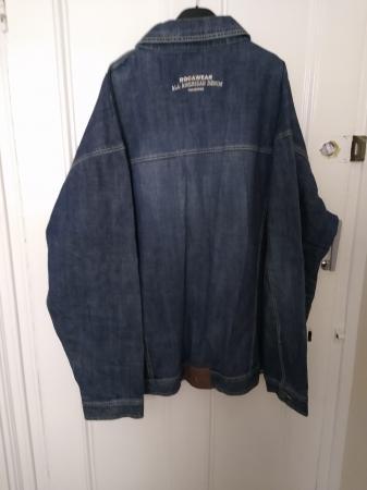 Image 2 of Men's 3XL Roca Wear Denim Long Sleeves Jacket