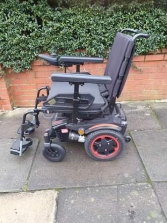 Image 3 of Quickie Q100 R  Ultra Compact Electric Power Wheelchair.