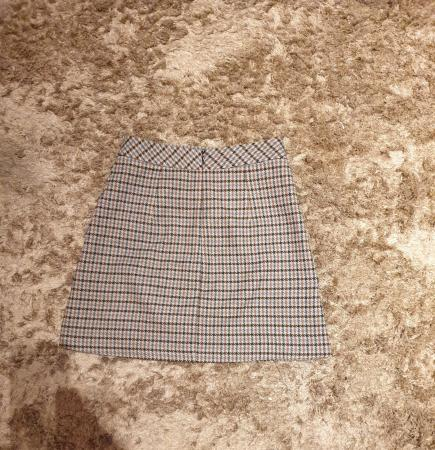 Image 3 of Zara embroidered tweed skirt size XS