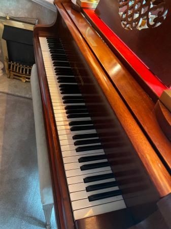 Image 3 of Baby grand piano Leutke Leipzig